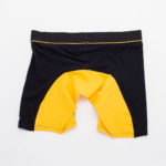 MEN'S LOW RISE CONTOUR POUCH LONG BOXER BRIEFS UNDERWEAR – YELLOW