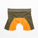 MEN'S LOW RISE CONTOUR POUCH LONG BOXER BRIEFS UNDERWEAR – OLIVE