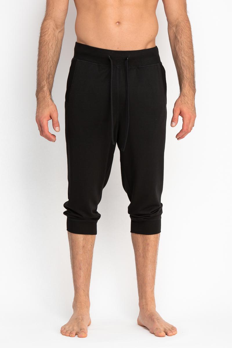 Cropped Pants w/ Slash Pocket